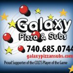 Galaxy Pizza Half Court Shot