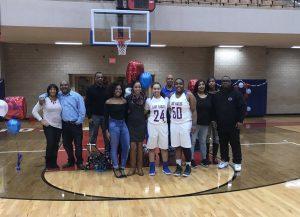 2018 Girls Basketball Senior Night