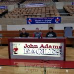Brown and Lee sign college letters
