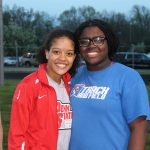 Girls Track and Field Finishes 4th in NIC Meet