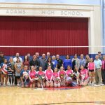 Seniors Lead Volleyball to Victory on Senior Night