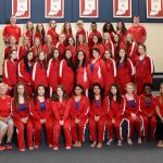 Girls Swimming and Diving 2018 - 2019