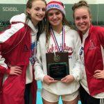 Girls Divers Win SB Washington Winter Invitational