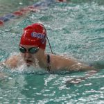 Girls Swimming and Diving Secures Win Over SB Clay