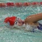 Girls Swimming and Diving Hosts Senior Nights, Loses to Penn