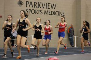 Girls Track Trine HSR Qualifier (March 2)