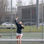 Girls Tennis Falls to Goshen in Non Conference Action