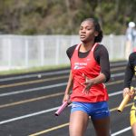 Girls Track and Field Finishes 4th at Marion Relays