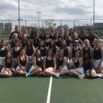 Girls Tennis Sweeps SB Clay