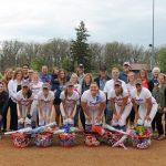 Softball Crushes Washington on Senior Night