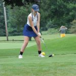 Girls Golf Lose to Michigan City by One Stroke