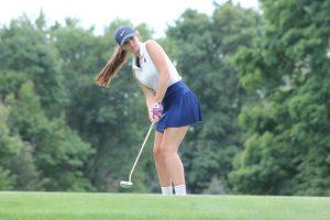 Girls Golf vs New Prairie / Mishawaka Marian (Aug 14)