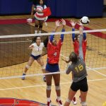 Volleyball Fights Hard at Westview Invitational