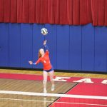 Volleyball Suffers Loss to SB St Joseph
