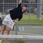 Boys Tennis Battles With Penn