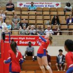 Volleyball Wins First NIC Game of the Season