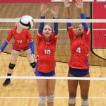 Volleyball Falls on Road to New Prairie