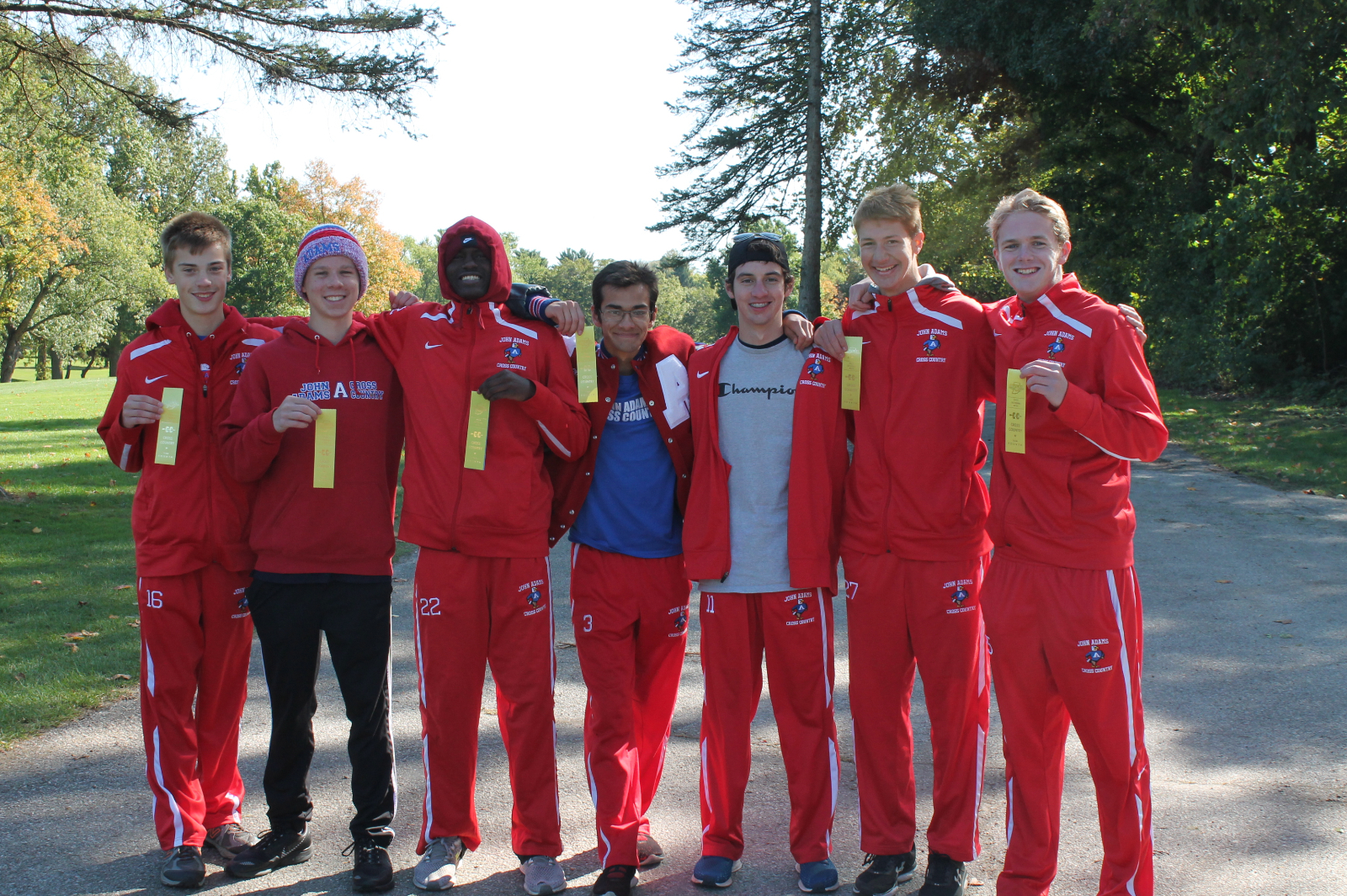 Boys Cross Country Finishes 4th at IHSAA Sectional