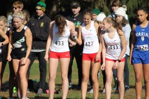 Girls Cross Country IHSAA Regional Meet (October 19)