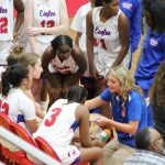 Girls basketball Fights Hard in Loss to Mishawaka Marian