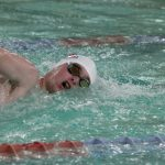 Boys Swimming Loses at Home to New Prairie
