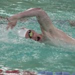 Boys Swimming and Diving Loses at Elkhart Central