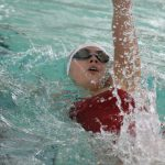 Girls Swimming and Diving Beats SB Clay
