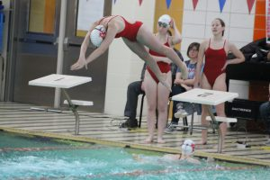 Girls Swimming vs Mishawaka (Dec 17)