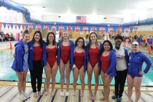 Girls Swimming and Diving Senior Night (Dec 17)