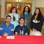 Arturo Ortiz Signs to Play Soccer at Ancilla College