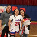 Girls Basketball Senior Night 2020