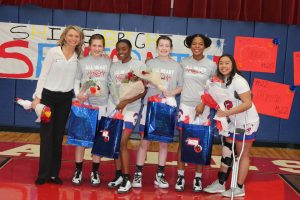 Girls Basketball Senior Night 2020