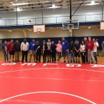 Wrestling Soars to Victory on Senior Night