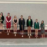 Girls Diving Competes at Mishawaka Invite
