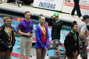 Girls Diving IHSAA State Championships (Feb 15)