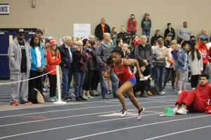 Girls Track and Field Tine HSR Qualifier (March 7)