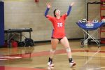 Volleyball Falls on Road to ECA
