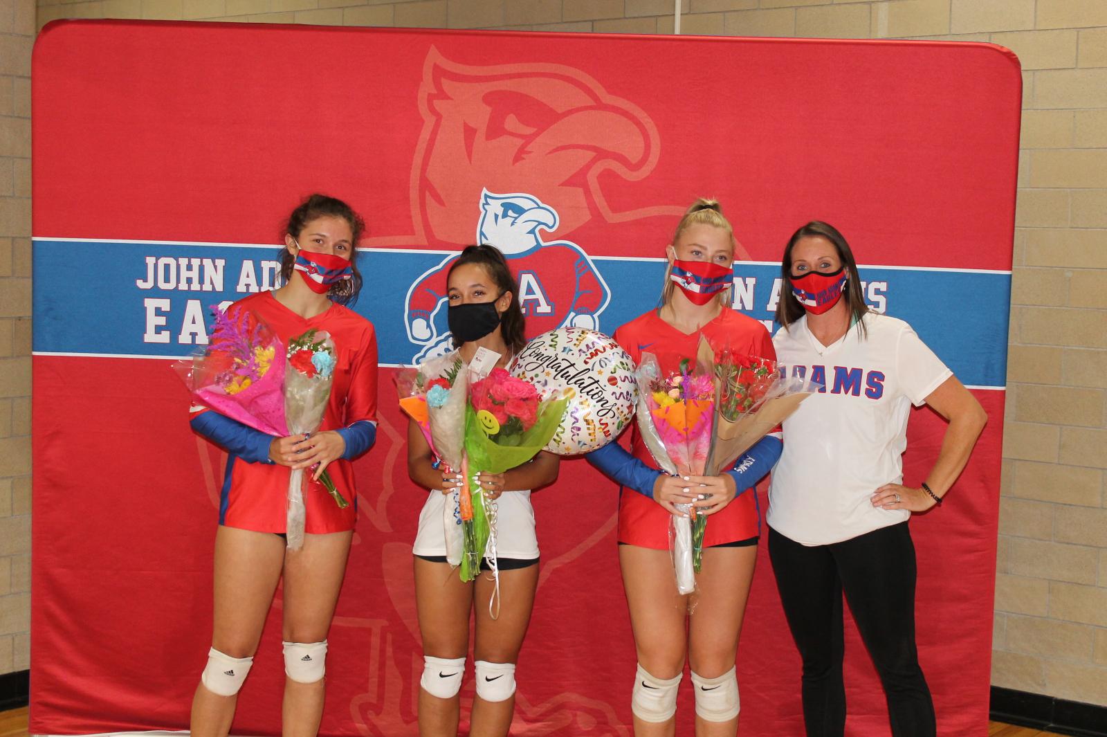 Volleyball Senior Night – 2020