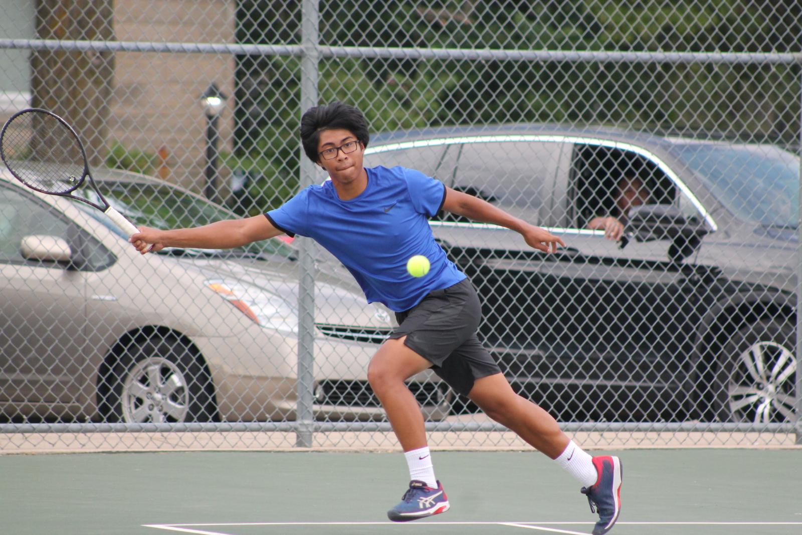 Boys Tennis vs SB St Joseph (August 25)