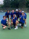 Boys Junior Varsity Tennis Finishes 2nd at St Joe JV Invite