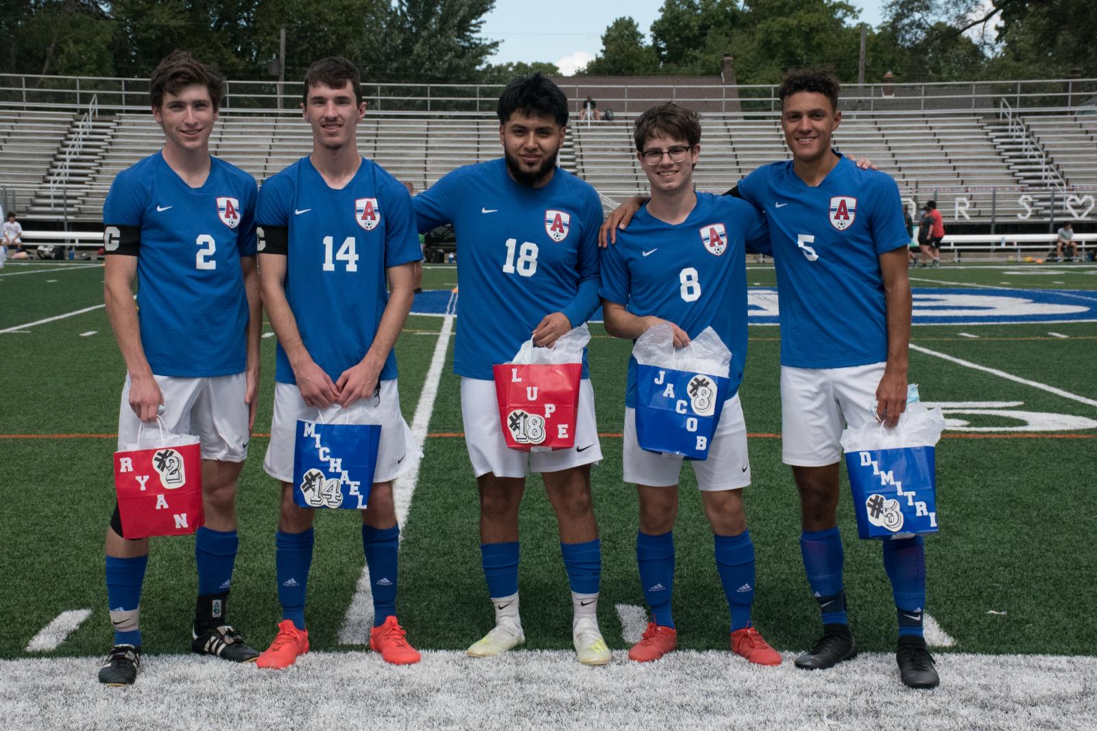 Boys Soccer Senior Day 2020