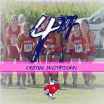 Girls Cross Country Finishes 4th at Caston Invite