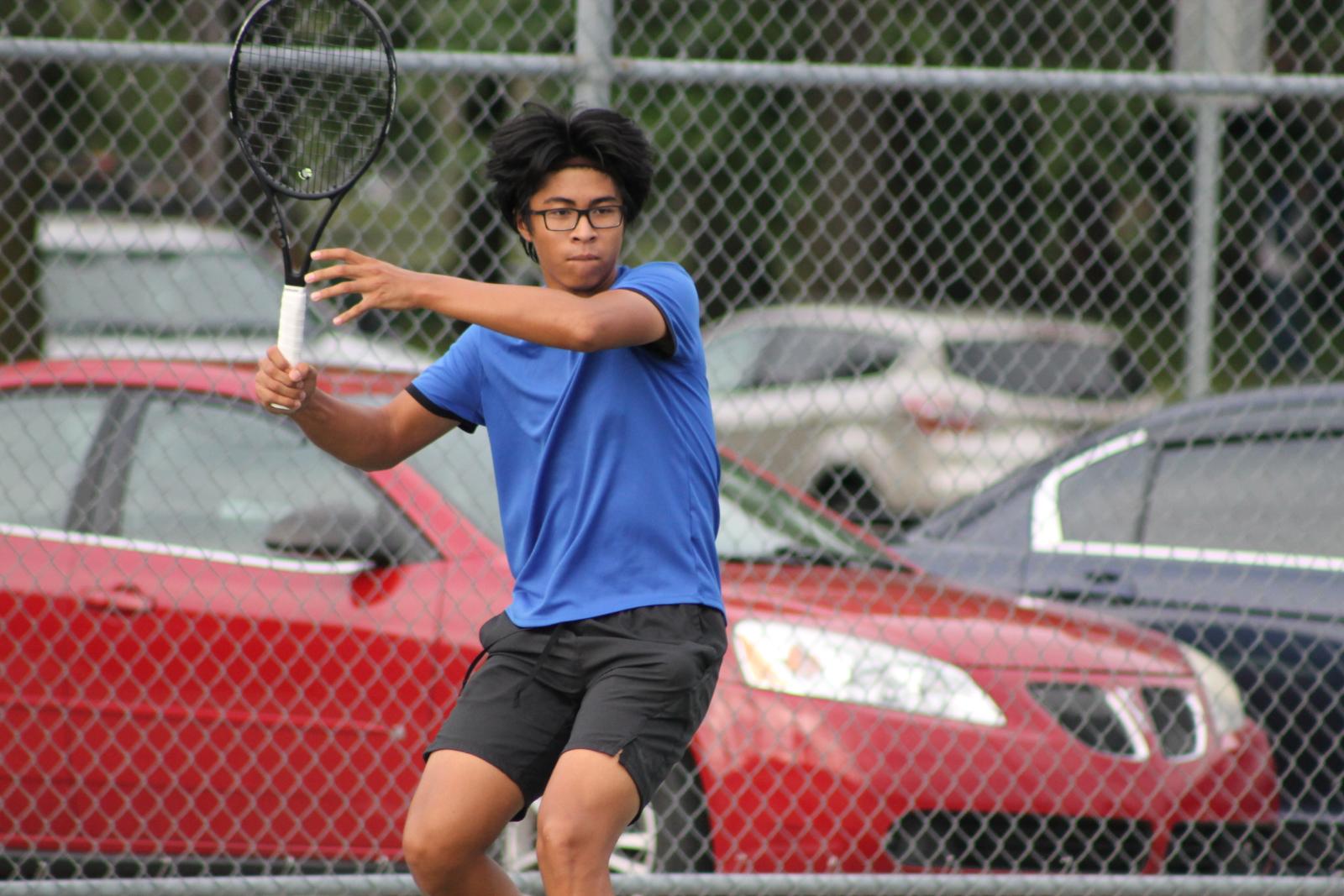 Boys Tennis vs Elkhart (Sept 8)