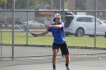 Boys Tennis Sweeps Mishawaka Marian