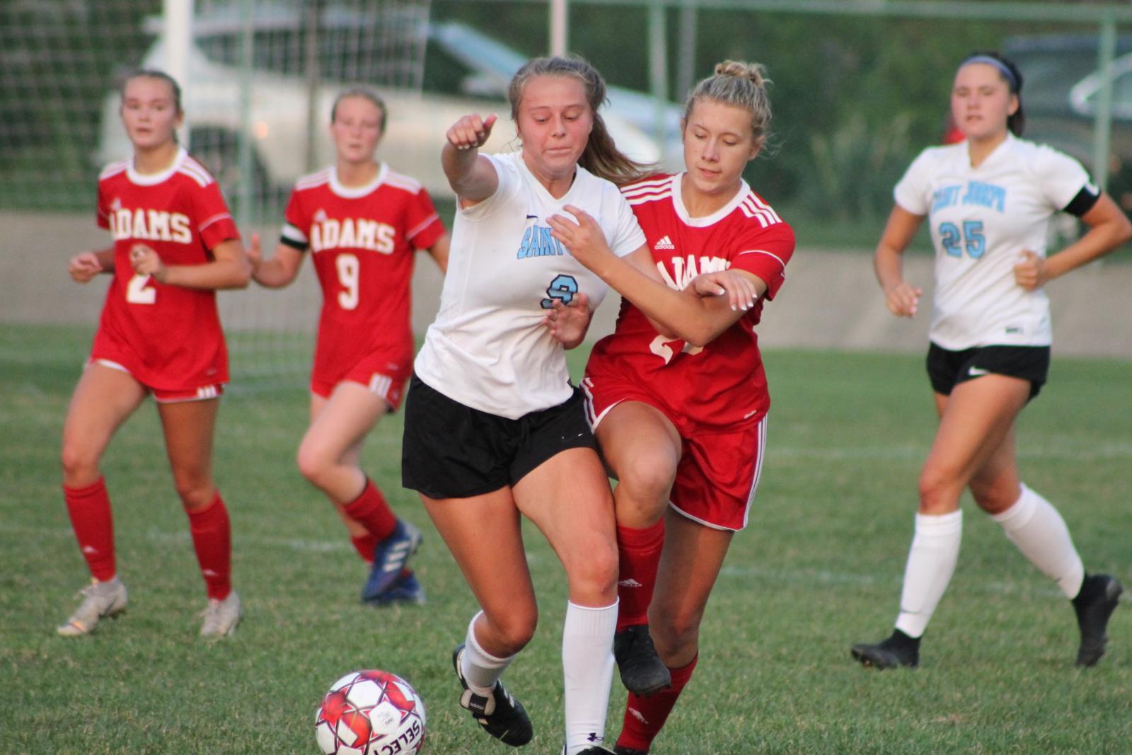 Girls Soccer vs SB St Joseph (Sept 9)