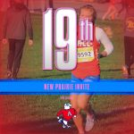 Girls Cross Country Competes in 2020 New Prairie Invite