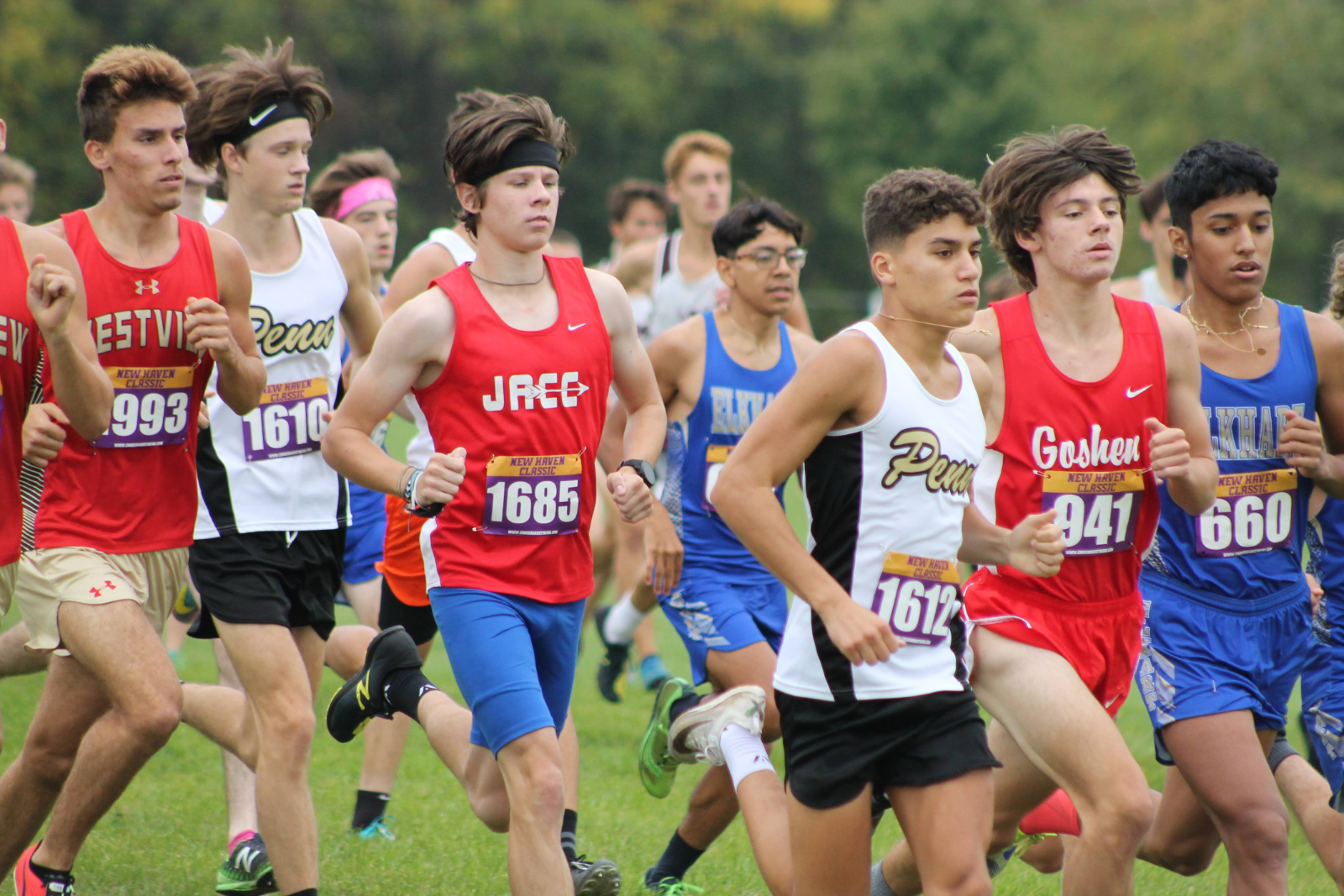Boys Cross Country New Haven Classic (Sept 26)