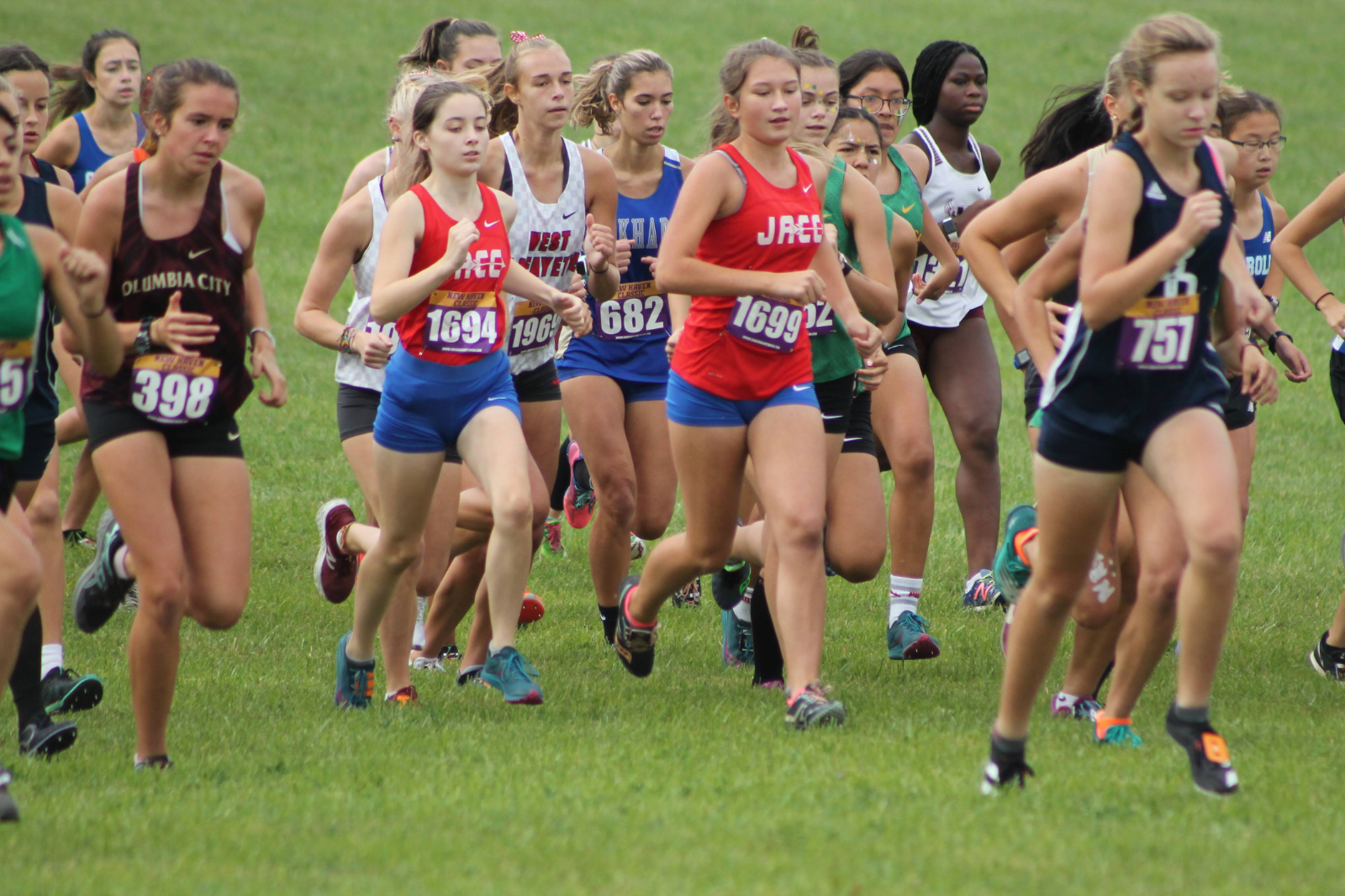 Girls Cross Country New Haven Classic (Sept 26)