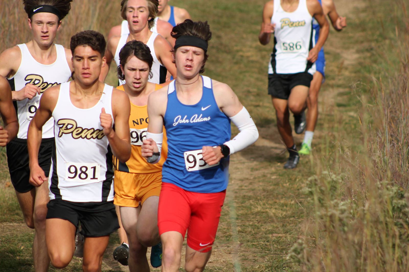 Boys Cross Country Northern Indiana Conference Meet (Oct 3)
