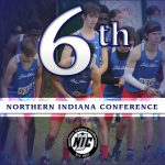 Boys Cross Country 6th at NIC Championships